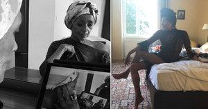 Františka na fotkách, jak ji neznáte: V turbanu i jako Jackie Kennedy! Holčičí hra a pěna letních dní