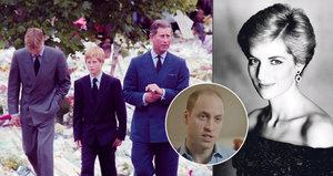 Diana přišla na vlastní pohřeb a pomáhala nám to zvládnout, tvrdí princ William