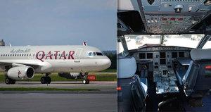 Byli jsme v kokpitu letadla Qatar Airways: Pravidelně bude létat z Dauhá do Prahy