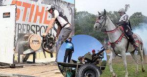 20 tipů na víkend: Bitva na Bílé Hoře, skřeti na Špilberku i závody dřevorubců!