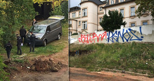 V bývalé komunitní zahradě se oběsila žena: Tělo bylo vidět i z oken školy
