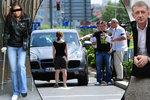 Janoušek po nehodě volal milence: Nějaká cigoška mi hodila šipku na kapotu