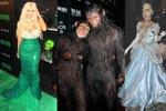 Slavná strašidla: Celebrity a jejich halloweenské kostýmy !