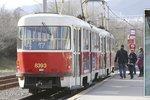 V tramvaji číslo 17 se odehrála poprava ženy (†64).
