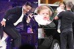 Robbie Williams se v Praze drsně pohádal kvůli fotkám své dcery!