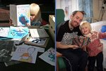 Dojemný příběh! Syn (4) kreslí denně obrázek svého mrtvého otce