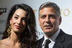 Clooney slaví ještě měsíc po svatbě: Pro rodinu Amal uspořádal speciální party!