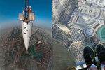 828 metrů – v takové výšce se rozhodl nafotit britský fotograf Gerald Donovan (47). Vyšplhal se totiž na vrchol mrakodrapu Burdž Chalífa, který je nejvyšší na světě!