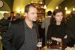 S manželkou Martinou Preissovou (na snímku) je spojuje láska k vínu