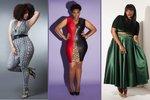Návrhářka šije šaty od velikosti 36 až do 62. Vybere si každá žena!