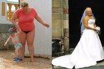 Jedla 30 pytlíků brambůrků denně. Zhubla až díky vysněným svatebním šatům