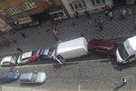 Hromadná nehoda na Újezdě