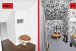 Proměna toalety: Děti už se sem nebojí chodit, nepořádek zmizel