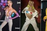 Bláznivá Miley Cyrus pokračuje v nekončící jízdě: Její prsa blikají
