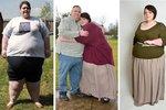 Zhubla 76 kilo, teď se bojí, že ji manžel opustí. Je totiž na baculky