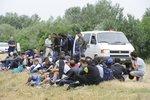Maďarská policie řeší problémy s ilegálními uprchlíky
