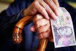 Jaký je průměrný důchod v Česku?