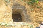 Muž zemřel při hledání vltavínů