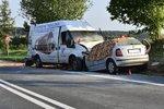 Při nehodě na Kladensku zemřely dvě ženy.