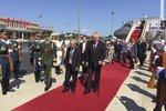 Přílet prezidenta Miloše Zemana do Číny