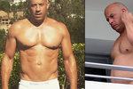 """Tlustě a zběsile: Vin Diesel předvedl svůj tučný břišní """"pekáč"""""""