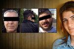 Rokstan uprchla ze Sýrie poté, co ji znásilnili tři muži. V Německu ji ale zavraždila vlastní rodina (na snímku otec a její bratři).