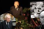 Na pohřbu Lubomíra Lipského se naposledy sešli všichni tři kamarádi i s Ladislavem Trojanem a Janem Skopečkem.