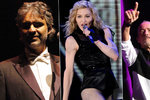 10 nejlepších koncertů do konce roku: Madonna, Ramazzoti i Bocelli