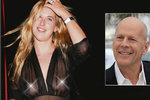 Bruce Willis se nestačí divit: Vyprsila se mu dcera