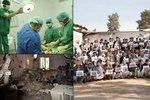 Krvavý omyl USA. V Praze uctili 30 mrtvých po bombardování nemocnice