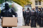Německá policie vyšetřuje podezřelé dva muže a předmět, který u nich nalezl (ilustrace)