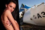 Sexy modelka proslula tím, že vždy zmeškala let. Tentokrát však letadlo v Egyptě stihla