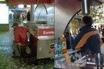 Prodavač už na Andělu klobásy netlačí, záchodový skandál ho stál místo