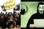 Anonymous: My jsme před nedělními údery ISIS nevarovali. Kdo tedy?