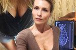 Daniela Peštová udělala online přenos ze svého mamografického vyšetření.