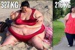Patty se podařilo výrazně zhubnout.