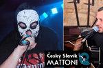 Před předáváním Českého slavíka je dusno kvůli kapele Ortel a Řezníkovi.