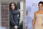 Kate Beckinsale natáčí nejnovější díl ságy Underworld v Praze.