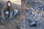 Na Nechranické přehradě klesla voda a objevily se kostry. Čerstvé ale nejsou. Pocházejí z raně středověkého pohřebiště z 12. století.