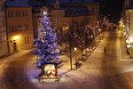 Naděje na bílé Vánoce: Nejchladněji bude o svátcích, slibují meteorologové