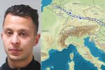 Pařížský terorista byl měsíc před útoky v Česku! Abdeslam tu jezdil s komplici