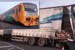 Druhá nehoda vlaku a náklaďáku ve Slezku: Naštěstí nebyl nikdo zraněn