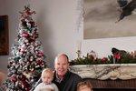 Monacká knížecí rodina přeje veselé Vánoce! Poprvé i s rozkošnými dvojčátky