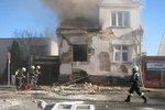 Byla to plánovaná vražda syna a manželky, tvrdí svědek o výbuchu domu v Českých Budějovicích