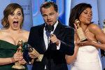 Zlaté glóby 2016: DiCaprio se dočkal sošky! Bodovala i Lady Gaga