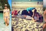 Exotika volá: Které celebrity se vykašlaly na zimu a odletěly za sluníčkem?