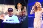 Poslední sbohem: Céline Dion během koncertu zpívala svému umírajícímu manželovi