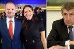 První dáma ODS Udženija nechce do vlády s ANO. Babiš: Snaží se zviditelnit