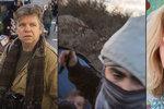 """Migranti zaútočili s """"pepřákem"""" a nožem na novináře. Další běženci je zachránili"""