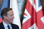 Cameron oťukával se Zemanem změny v unii, prezident mu popřál úspěch